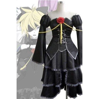 Vocaloid Len Kagamine Cosplay Kostüm Schwarz kleiden