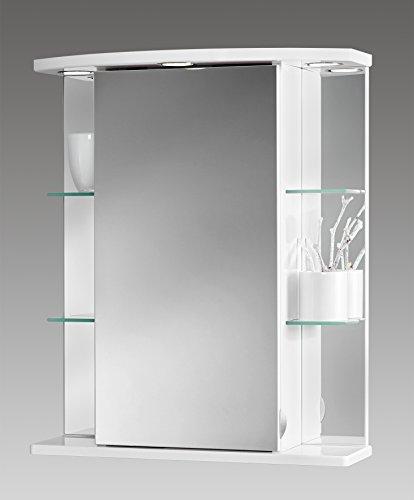 Jokey Spiegelschrank Havana LED weiß 211211110-0110
