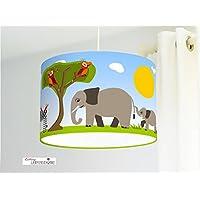 Lampenschirm Babyzimmer Tiere Safari
