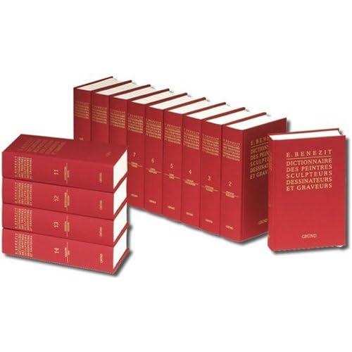 Bénézit : Dictionnaire des peintres, sculpteurs, dessinateurs et graveurs (Vendu en 14 volumes)