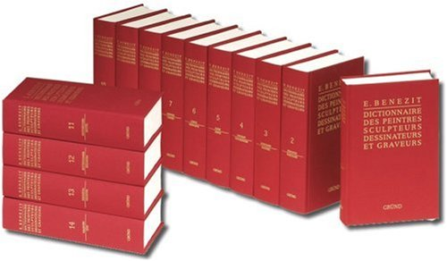 Bénézit : Dictionnaire des peintres, sculpteurs, dessinateurs et graveurs (Vendu en 14 volumes) par Emmanuel Bénézit