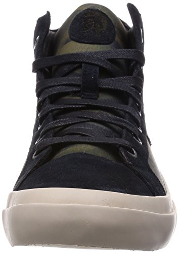 Diesel S-Kwaartzz Sneakers Herren Schuhe Schwarz / Olive Nacht