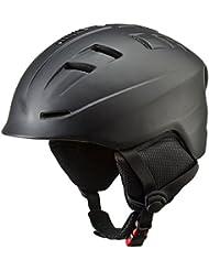 TECNOPRO Casco de esquí Brave Plus, invierno, color negro, tamaño large