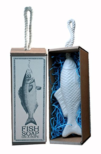 Savon poisson sur corde