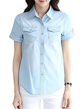 Tuoweey - Camisas - para mujer