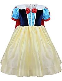 Freebily Disfraz de Princesa Fiesta para Niña Vestido de Disfraces Traje de Ceremonia Vestido Cosplay Carnaval