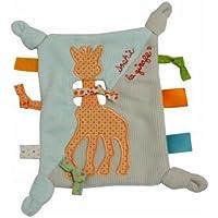 Vulli Sophie The Giraffe Baby Tags Blanket Labels Comforter Blankie DouDou