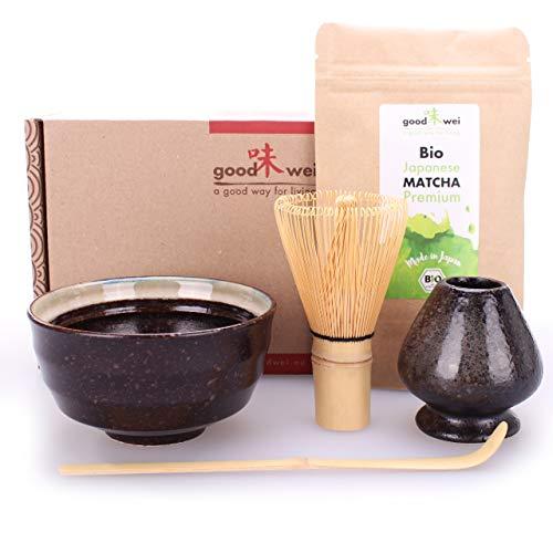 Matcha Komplett-Set inkl. Bio Matcha-Tee (Kumo)
