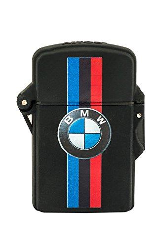 Winddicht Wasserdicht Auto Feuerzeug Jet Fackel Flamme Audi BMW VW Opel Volvo... (BMW 3 Bänder)