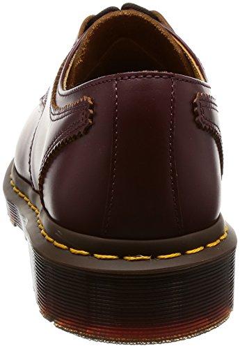 Dr Martens 1461 Ghillie Homme Chaussures Bordeaux Marron