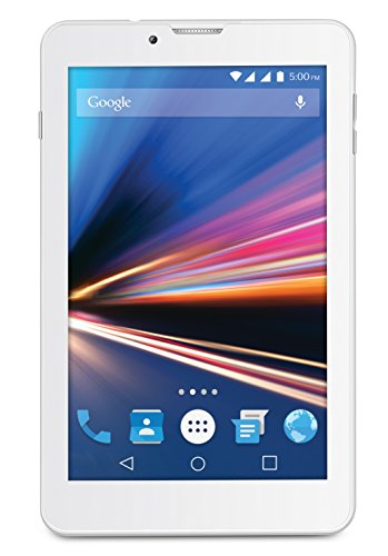 Lava Ivory S 4g Tablet (7 Inch, 1gb, Wi-fi+3g+voice Calling), White-silver