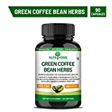 Nutriherbs Green Coffee Bean Herbs Natural Weight Loss Supplement 800Mg (50% Cga) 90