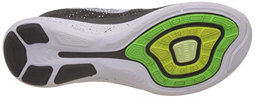 Nike Uomo Flyknit Lunar3 scarpe da corsa Nero (Noir (Black/White/Mid Fog/Wolf Grey 010))