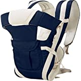 Ineffable® Baby Carrier Bag Belt with Hip Seat and Head Support for 4-12 Months WB (Dark Blue)