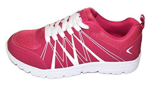 BTS, Scarpe da corsa donna Multicolore (Rosa/ Weiss)
