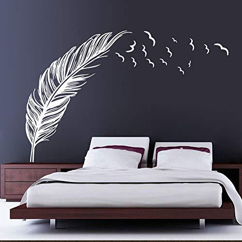 Onlymygod Hintergrund wandaufkleber schlafsofa Hintergrund wandaufkleber selbstklebend abnehmbare 45X42 cm -