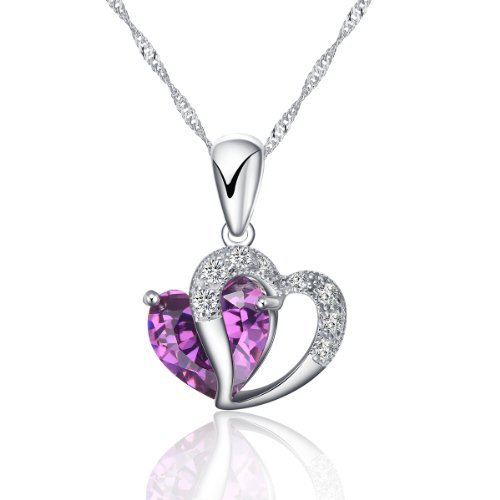 rhodium-plated-925-sterling-silver-diamond-accent-amethyst-heart-shape-pendant-necklace-including-92