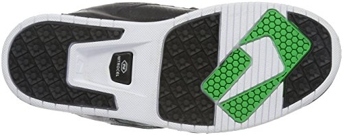 Globe Sabre, Scarpe da Skateboard da Uomo Nero (black/moto green)