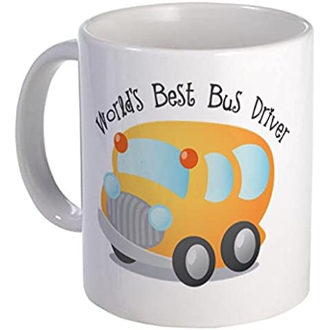 ilieniy Funny mug-worlds Best Bus Driver Tazza piccola