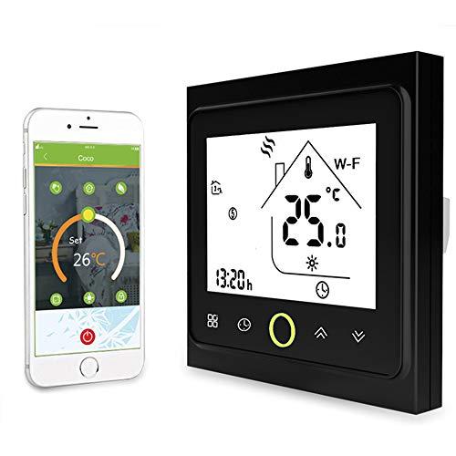 Decdeal Thermostat Intelligente WiFi - Termostato Programmabile per Riscaldamento dell'Acqua, Supporto App/Controllo Vocale, GA, Compatibile con Alexa/Google Home