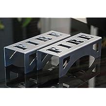 """Morillos compactos para estufas de leña e insertos, diseño moderno y elegante """"FIRE"""""""