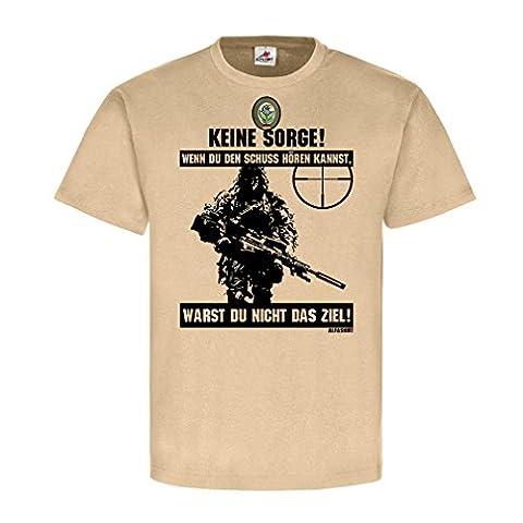 Deutscher Scharfschütze BW Sniper Schuss hören Ziel Ghillie Suit Tarnanzug