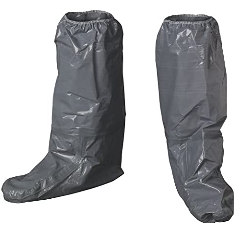 Lakeland ChemMax 3 Taped Seam Boot Cover, Disposable, Gray (Case of 12)