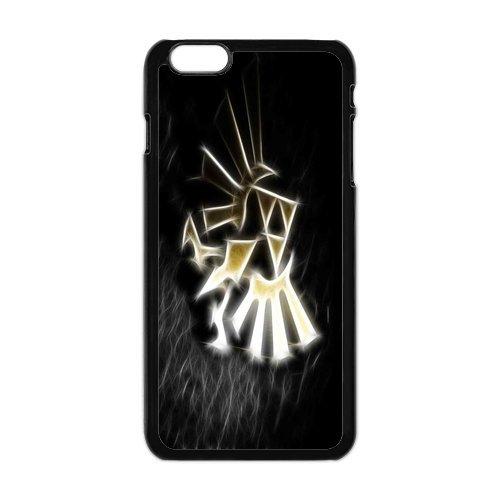 """iPhone 6Plus (5,5) Design Étui cover case-The Legend of Zelda TPU Étui Coque de Protection pour iPhone 6Plus (5.5"""") (Blanc/Noir)"""