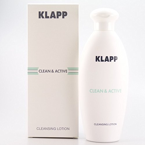 KLAPP CLEAN & ACTIVE Cleansing Lotion, 250 ml (Gesicht Spa-lotion)