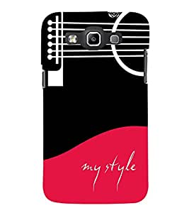 Fabcase my life guitar based theme my style provoking innovative Designer Back Case Cover for Samsung Galaxy Win I8550 :: Samsung Galaxy Grand Quattro :: Samsung Galaxy Win Duos I8552