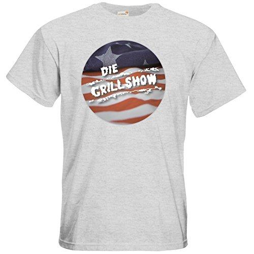 getshirts - Die Grillshow - The Shop - T-Shirt - Grillshow Ash