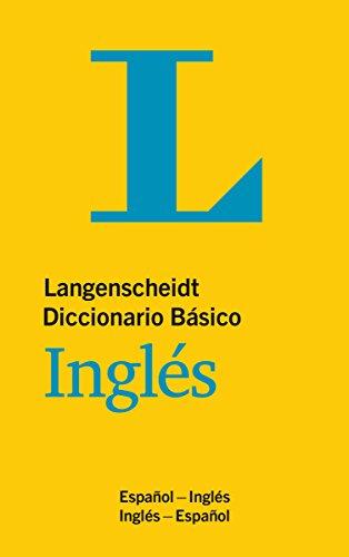 Langenscheidt Diccionario Básico Inglés: Englisch-Spanisch/Spanisch-Englisch (Langenscheidt Diccionarios Básicos)