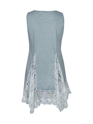 Blooming Jelly - Chemisier - Femme Gris