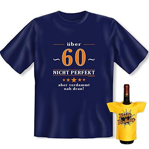 Nicht perfekt, aber verdammt nah dran. 60 Set Goodman design® witziges , formbeständiges Shirt Gr: Farbe: navy-blau Navy-Blau