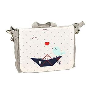 BOOT & SPATZ: Kindergartenrucksack Tasche mit Name