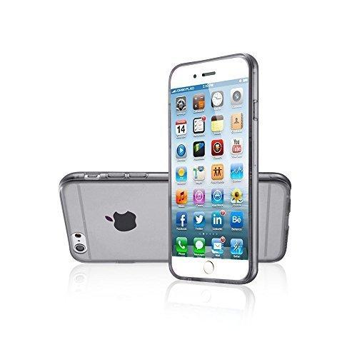 Avcibase Slim TPU Silikon durchsichtige vollfarbige Schutzhülle für Apple iPhone 6 (11,9 cm (4,7 Zoll), 0,3mm) grün Schwarz