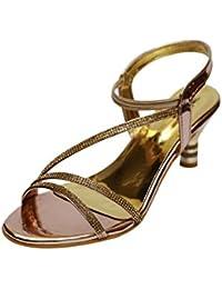 VIREN Women's Artificial Leather Stylish, Party Wear Heels (4-9 UK) - B07B9XB64P