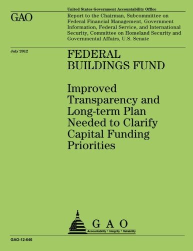 Federal Building Fund: Improved Transparency and Long-term Plan Needed to Clarify Capital Funding Priorities por US Government Accountability Office