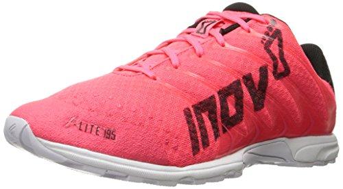 Neon-trainer (Inov-8 Unisex F-Lite 195-U Cross-Trainer Shoe, Neon Pink/Black/White, 11 M US Men's / 12.5 M US Women's)