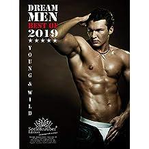 Dream Men · Premium Calendario 2019· DIN A4· Hombres · Man · Men · Hero · Shades Of Sex · Set de regalo con 1tarjeta de felicitación y 1Tarjeta de Navidad (· Edition Alma mágica