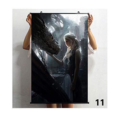 Poster Malerei Game Of Thrones Malerei Wohnkultur Wasserdicht ()