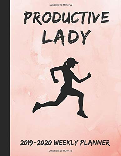 Productive Lady 2019-2020 Weekly Planner: 24 Month Planner por InWriting WeTrust