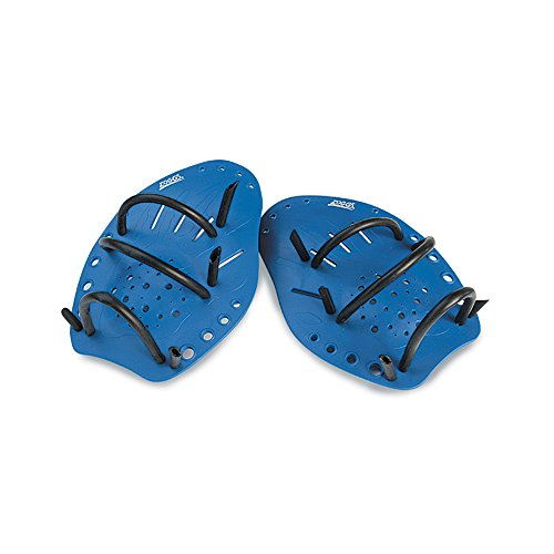 Zoggs Erwachsene Handpaddles Matrix Large Paddles, Blau, L