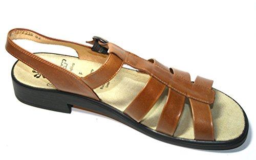 Ganter, Sandali donna Marrone marrón Marrone (Marrón - marrón)