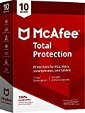 Mcafee Total protection 10 Devices 2018 (Download link and activation key via Amazon Message in 1 hour of purchase)