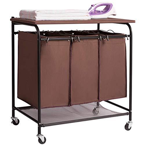 HollyHOME - Organizador lavandería 3 Bolsas, Resistente
