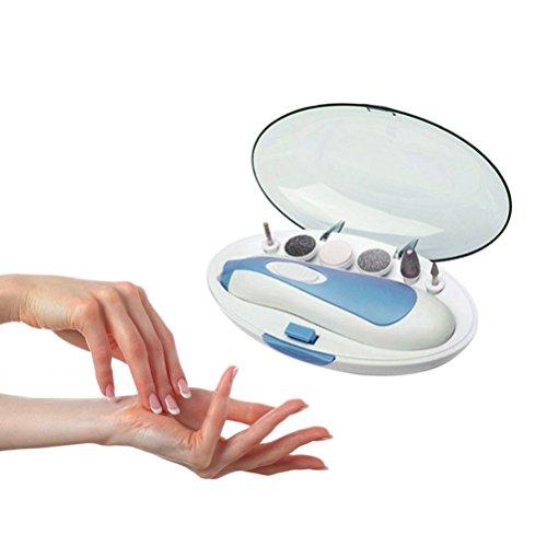 Bvc Professionelle Maniküre Pedicure Drill Kit, Nagelpflege-System - Elektrische Maniküre/Pediküre-Tool (Kurven-nagel-kit)