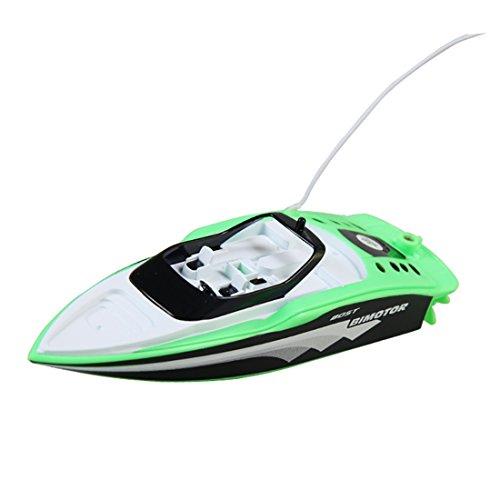 Likeluk Mini Ferngesteuertes Speedboot High Speedboot Fernbedienung Spielzeug für Jungen ab 8 Jaheren