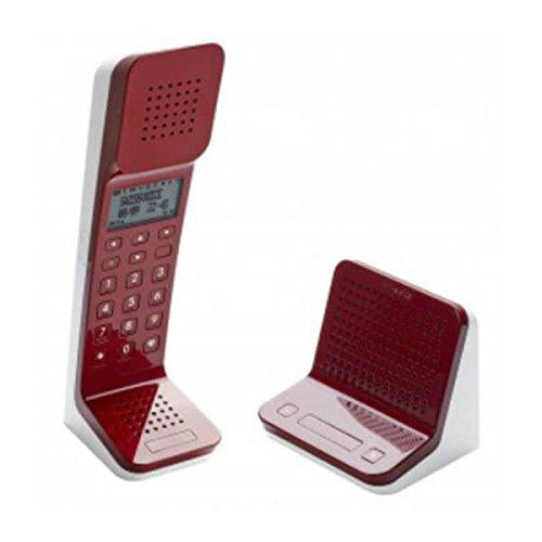 Swissvoice SWI31L7R - Teléfono Fijo, Color Rojo