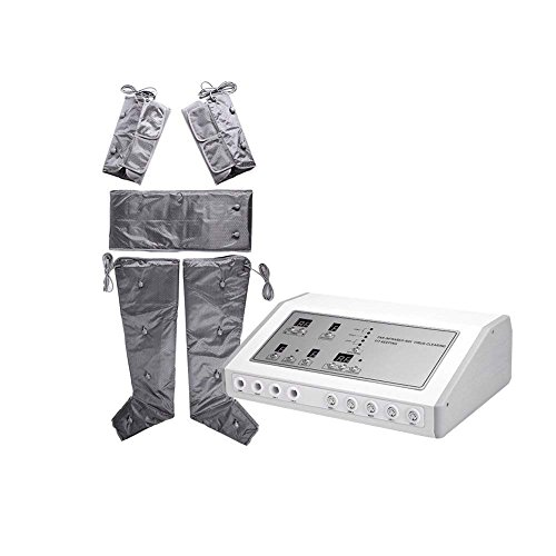 HUKOER Tuta dimagrante per linfrarosso lontano apparecchio per drenaggio linfatico della pressoterapia infrarossi involucro anti cellulite e perdita